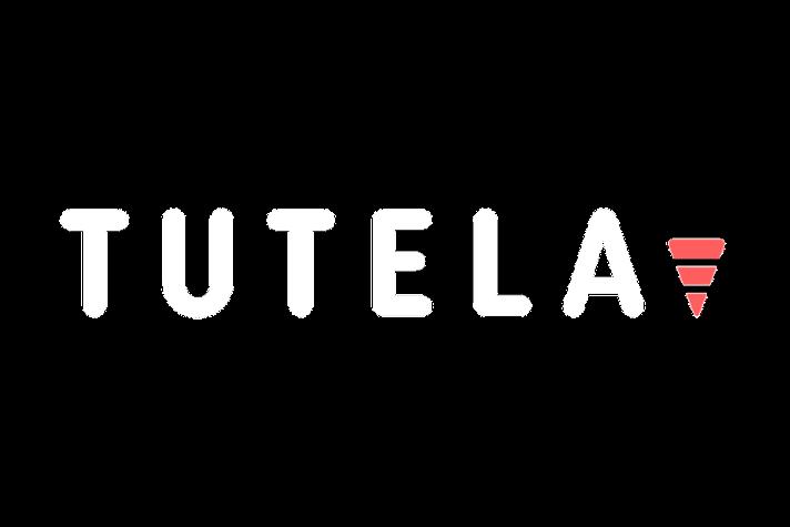 Tutela logo white